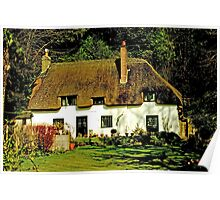 Abbey Cottage Poster