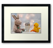 When is it going to hatch? Framed Print