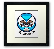 Lucha Libre Liberation (Reyes) Framed Print
