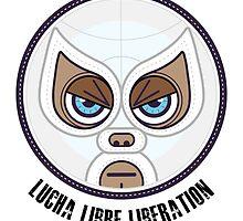 Lucha Librew Liberation (El Santo) by Richard Rabassa