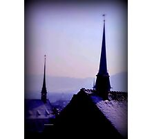Zurich Steeples  Photographic Print