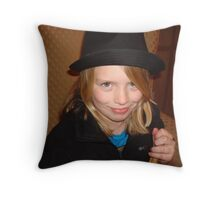 Silly Face Throw Pillow