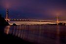 Golden Gate Bridge by First Morning Light by MattGranz