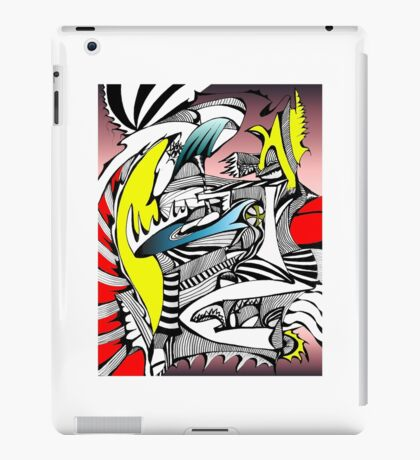 Center Apocalypse iPad Case/Skin