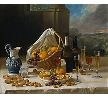 Luncheon Still Life by John Francis Photographic Print