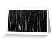Dashed lines Greeting Card