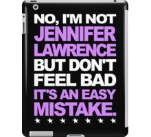 I'm Not Jennifer Lawrence... iPad Case/Skin