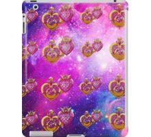 sailor moon power make up lockets galaxy  iPad Case/Skin