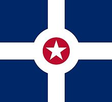 Flag of Indianapolis  by abbeyz71