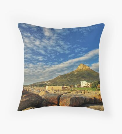 Camps Bay - South Africa Throw Pillow