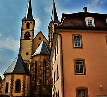 Rothenburg,Germany by Darlene Virgin