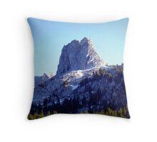 Crystal Crag Throw Pillow
