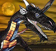 Portrait of a Dragon by copperhead