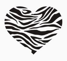 Zebra heart Kids Clothes