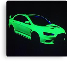 Mitsubishi Lancer Evolution X Canvas Print