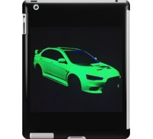 Mitsubishi Lancer Evolution X iPad Case/Skin