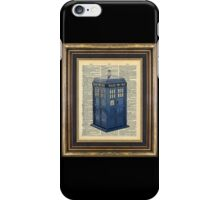 T.A.R.D.I.S. Dr. Who iPhone Case/Skin