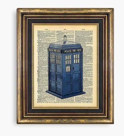 T.A.R.D.I.S. Dr. Who Canvas Print