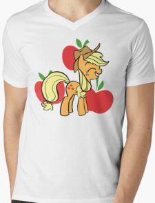Apple Jack Mens V-Neck T-Shirt