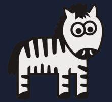 Comic zebra Kids Clothes