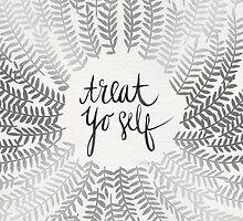 Treat Yo Self – Silver by Cat Coquillette