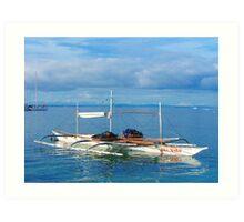 Portofino Beach, Cebu, Philippines Art Print