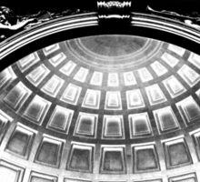 The Bright Dome Under the Fading Sky Sticker