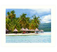 Badian Resort, Cebu, Philippines Art Print