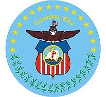 Seal of Columbus, Ohio Photographic Print