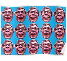 The League of Gentlemen Tubbs Face Local Shop Poster