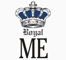 Royal Me - Blue Baby Tee