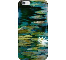 Dreamy Lily Pond iPhone Case/Skin