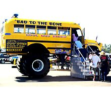 Kool Bus Rides Photographic Print