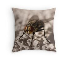 Red Eyed Throw Pillow