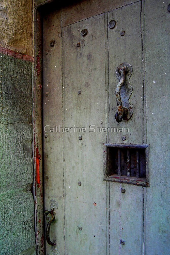 Ned Kelly Walked Through This Door by Catherine Sherman