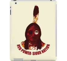 Red Power iPad Case/Skin