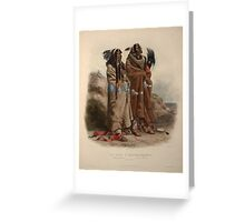 mandan-indians-1843 Greeting Card