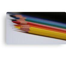 Coloured Pencils. Canvas Print