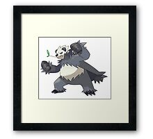 Pangoro - Pokemon Framed Print