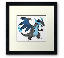 Mega Charizard - Pokemon Framed Print