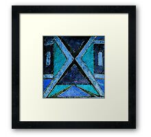 Abstract Voyage Framed Print