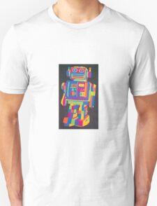 Neon Robot 2 Unisex T-Shirt