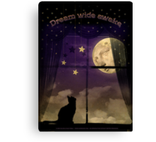 Dream Wide Awake Canvas Print