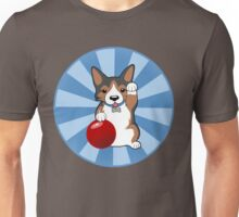 Maneki Corgi (Tricolor) Unisex T-Shirt