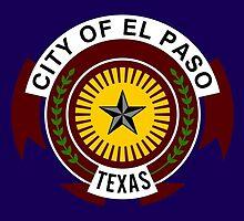 Flag of El Paso by abbeyz71
