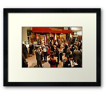 Jazz at the Gem -- a Roaring Twenties party at the American Jazz Museum in Kansas City Framed Print