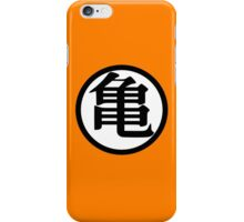 Goku Symbol White (Front) iPhone Case/Skin