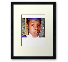 Young Jay Z Framed Print