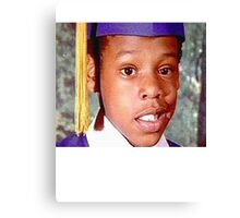 Young Jay Z Canvas Print