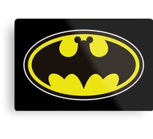 Batman Bat Mickey Metal Print